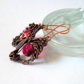 Kolczyki Baroque z kryształkami swarovskiego