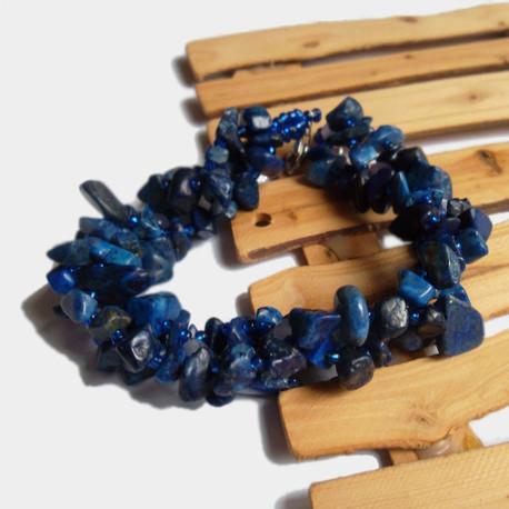 Bransoletka Poetica z lapis lazuli (1)